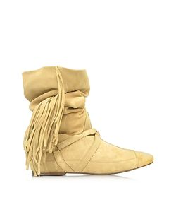 Jerome Dreyfuss | Arizona Suede Fringed Boot