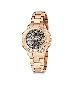 Just Cavalli | Just Decor Rose Tone Stainless Steel Womens Watch