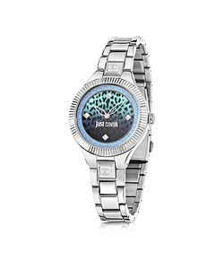 Just Cavalli | Just Indie Tone Stainless Steel Womens Watch W/Animal Print Dial