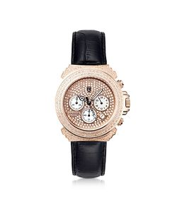 Lancaster | Pillo Deco Leather Band Womens Chronograph Watch