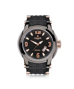 Lancaster | Bongo Tempo Mens Stainless Steel Watch W/ Rubber Strap