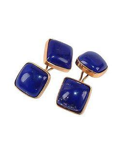 Forzieri Exclusives | Vintage Style Lapis Lazuli Cufflinks