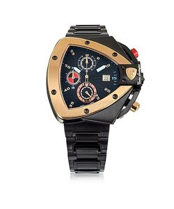 Tonino Lamborghini | And Rose Gold-Tone Stainless Steel Spyder Chronograph Watch