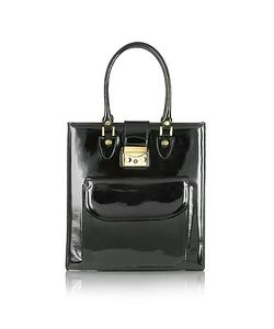 L.A.P.A. | Patent Leather Tote Bag