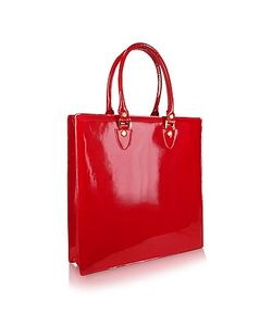 L.A.P.A. | Ruby Patent Leather Tote Bag