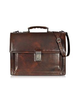 L.A.P.A. | Cristoforo Colombo Collection Leather Briefcase