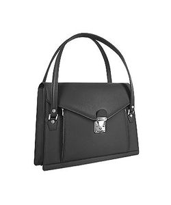 L.A.P.A. | Double Compartment Calf Leather Womens Briefcase