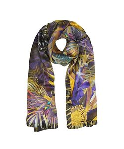 Laura Biagiotti | Floral And Nature Print Silk Stole