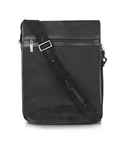 Moreschi | Techno Fabric Large Messenger Bag