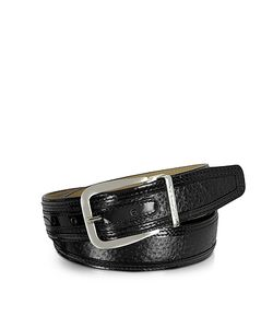 Moreschi | Lione Peccary And Leather Belt