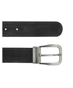 Moreschi | Mens Perforated Leather Belt
