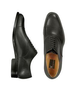 Moreschi | Londra Calfskin Cap Toe Oxford Shoes