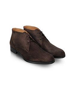 Moreschi | Stiria Dark Suede Ankle Boots
