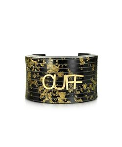 MM6 Maison Martin Margiela | Gold Resin Cuff
