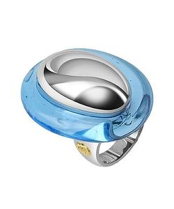 Masini | Vanita Sterling Silver Oval Ring