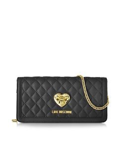 Love Moschino | Quilted Wallet On Chain
