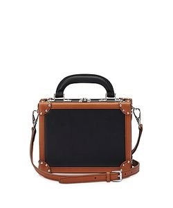 BERTONI 1949 | Terra Leather Mini Squared Bertoncina Bag