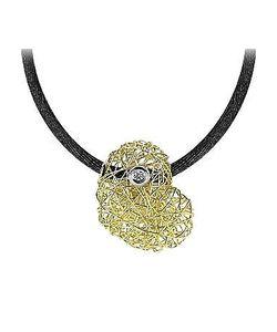 Orlando Orlandini | Arianna 18k Gold Heart Pendant W/Diamond
