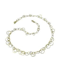 Orlando Orlandini | Star 18k Yellow Circles Necklace