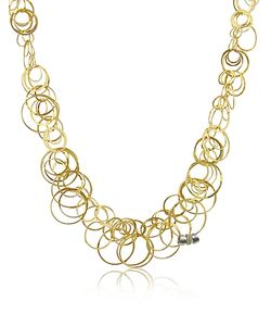 Orlando Orlandini | Scintille Diamond 18k Yellow Chain Necklace