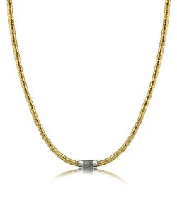Orlando Orlandini | Capriccio Diamond 18k Chain Snake Necklace