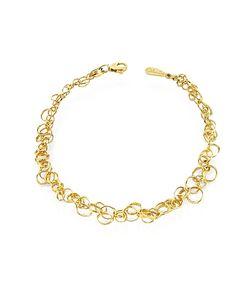 Orlando Orlandini | Scintille 18k Yellow Bracelet
