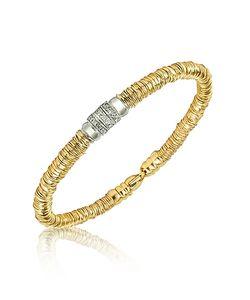 Orlando Orlandini | Capriccio Diamond 18k Chain Snake Bracelet