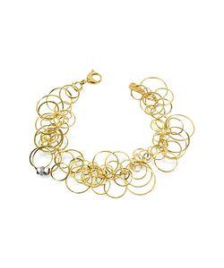 Orlando Orlandini | Scintille Diamond 18k Yellow Bracelet
