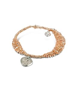 Orlando Orlandini | Galaxy Diamond Charm 18k Rose Gold Bracelet