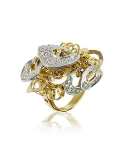 Orlando Orlandini | Fashion Diamond 18k Charm Ring