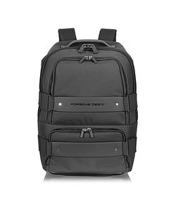 Porsche Design | Twin Backbag Black Backpack Carry On Trolley