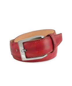 Pakerson | Mens Hand Painted Italian Leather Belt