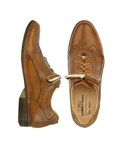 Pakerson   Italian Handmade Leather Lace-Up Shoes