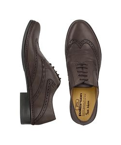 Pakerson | Handmade Italian Leather Wingtip Oxford Shoes