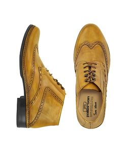 Pakerson | Handmade Italian Leather Wingtip Ankle Boots