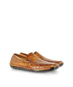 Pakerson | Light Alligator Loafer