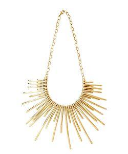 Pluma | Sunburst En Brass Necklace