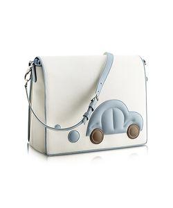 Pineider | Blue Car Messenger Changing Bag
