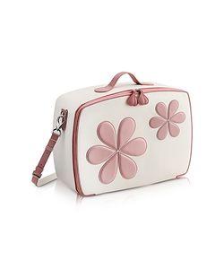 Pineider   Pink Flower Mini Travel Bag