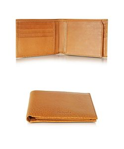 Pineider | Country Leather Billfold Wallet W/Flap