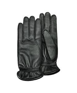 Pineider | Mens Deerskin Leather Gloves W/ Cashmere Lining