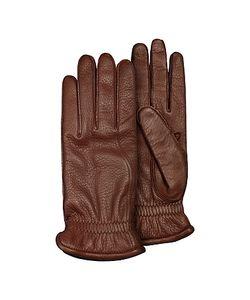Pineider   Mens Deerskin Leather Gloves W/ Cashmere Lining