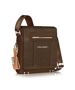 Piquadro | Link Vertical Messenger Bag