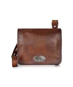 Pratesi | Genuine Leather Crossbody Bag