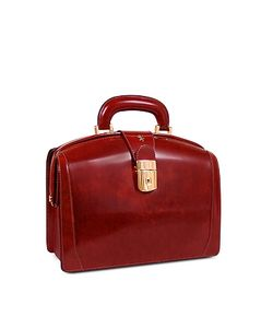 Pratesi | Ladies Polished Italian Leather Briefcase