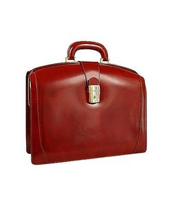 Pratesi | Junior Italian Leather Briefcase
