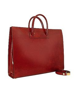 Pratesi | Ladies Polished Leather Classic Briefcase