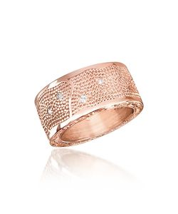 Rebecca | Manhattan Zircon Bronze Band Ring