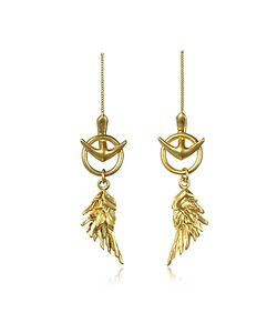 Roberto Cavalli | Wing Antique Earrings
