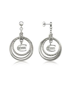 Just Cavalli | Infinity Logo Charm Earrings